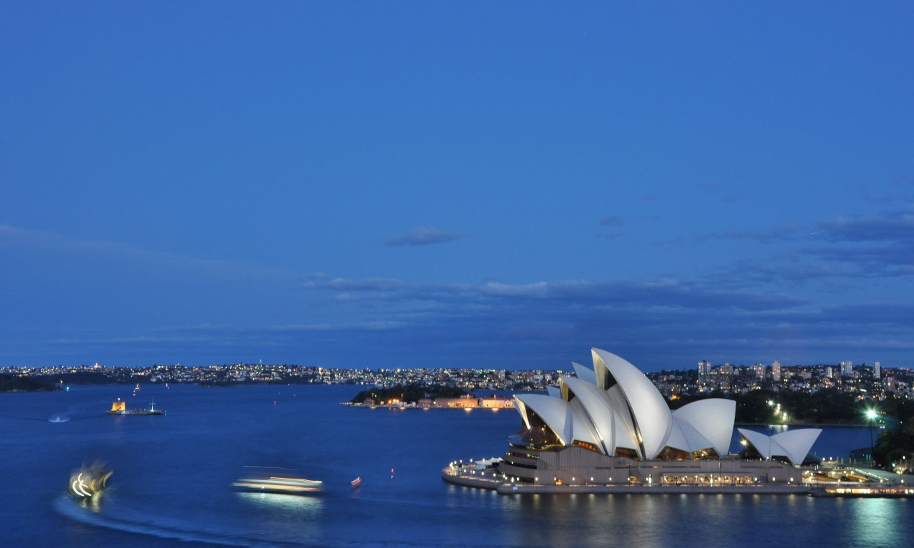 Night  Sydney Opera House  HD Wallpaper