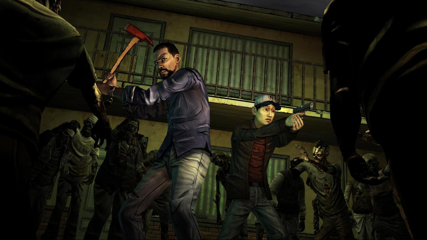 The Walking Dead game HD Wallpaper
