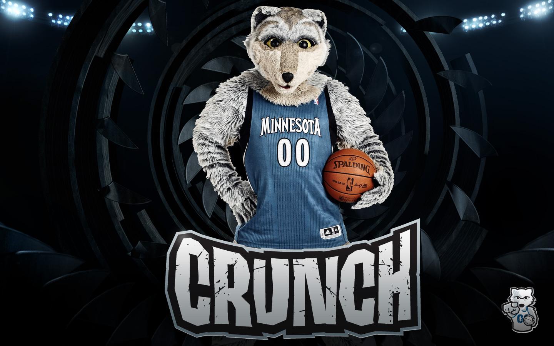 NBA Mascot Crunch Wallapaper HD Wallpaper