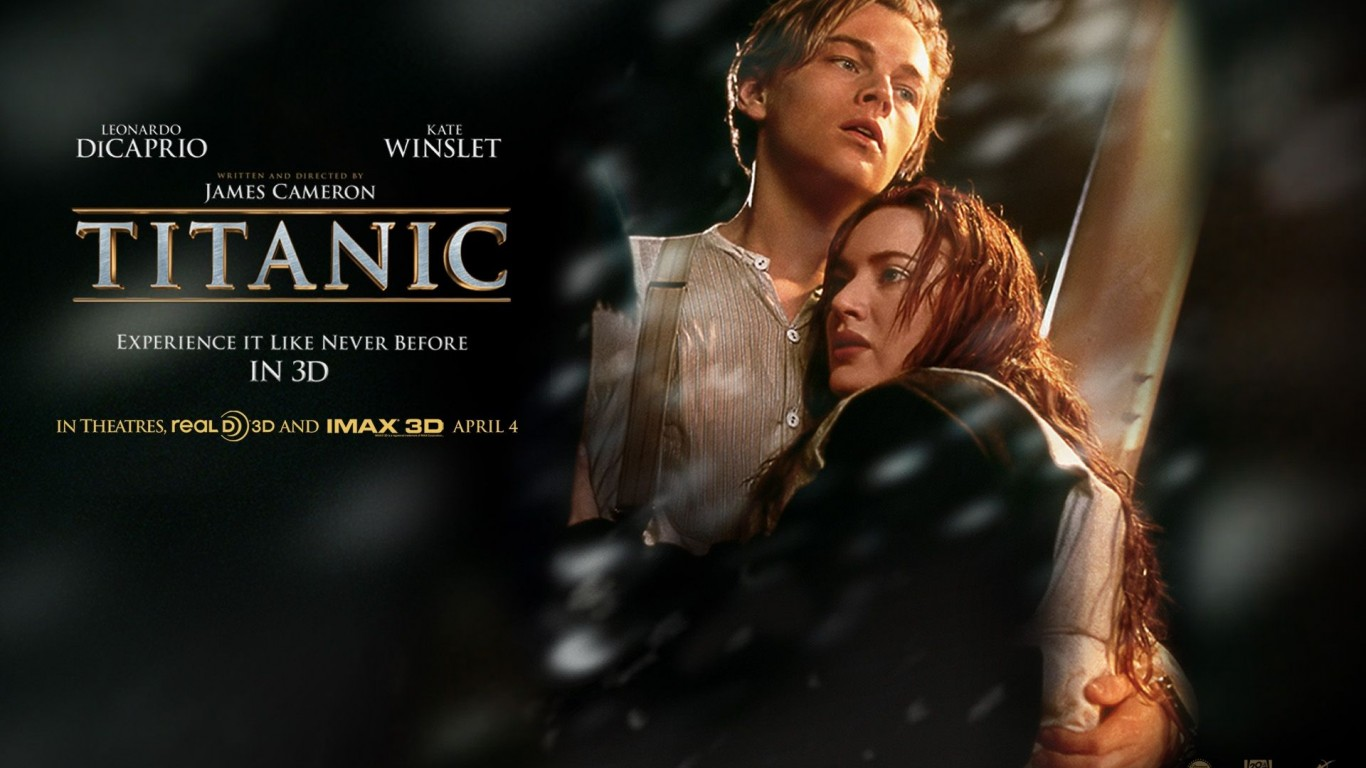 DiCaprio Kate Winslet HD Wallpaper
