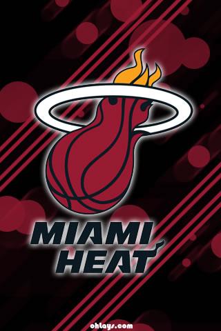 Miami Heat iPhone  HD Wallpaper
