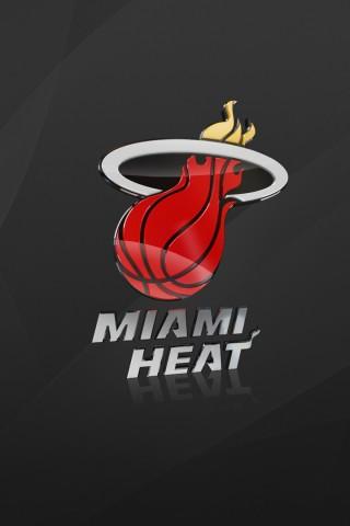 Miami Heat Logo HD Wallpaper