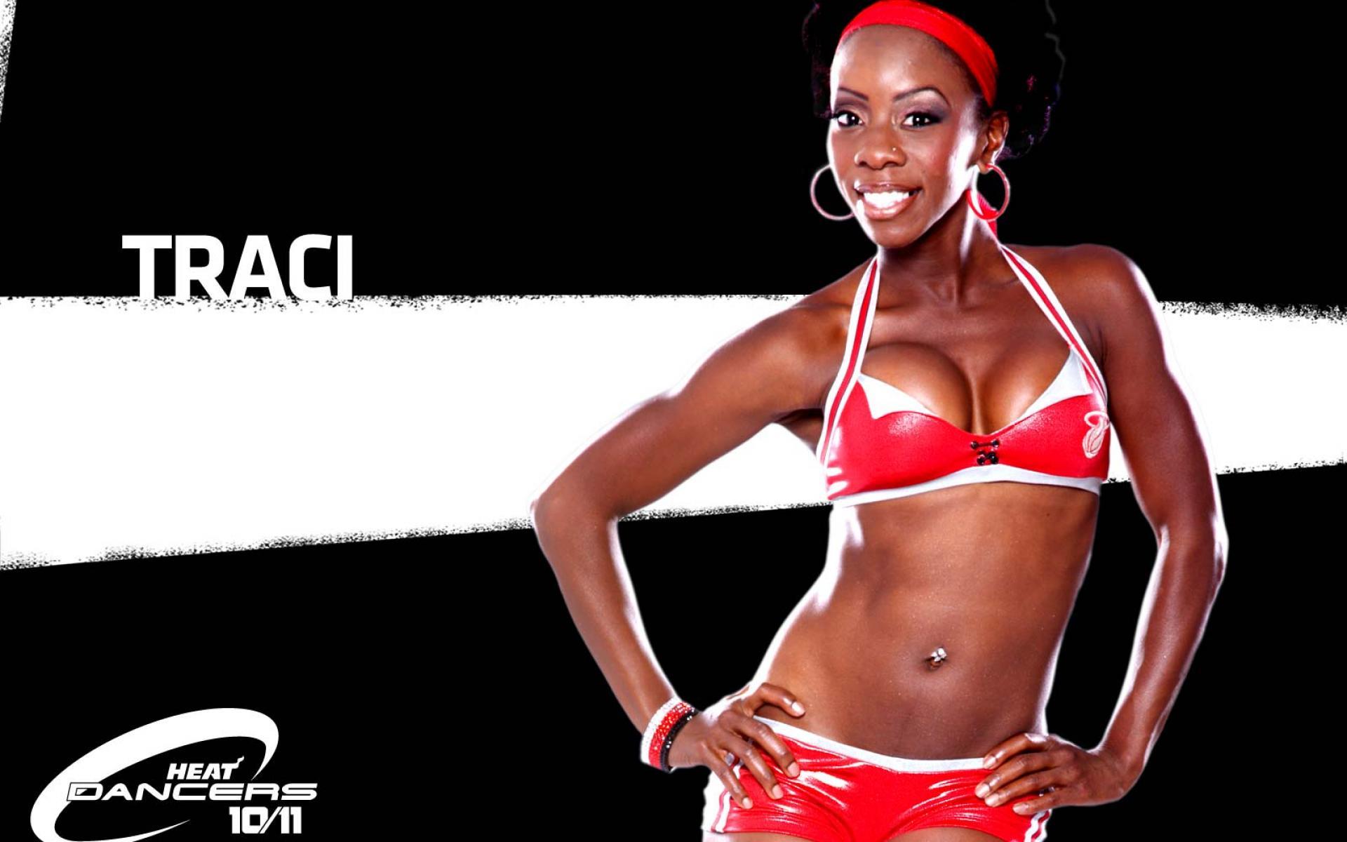 NBA Dancers   Miami Heat   HD Wallpaper