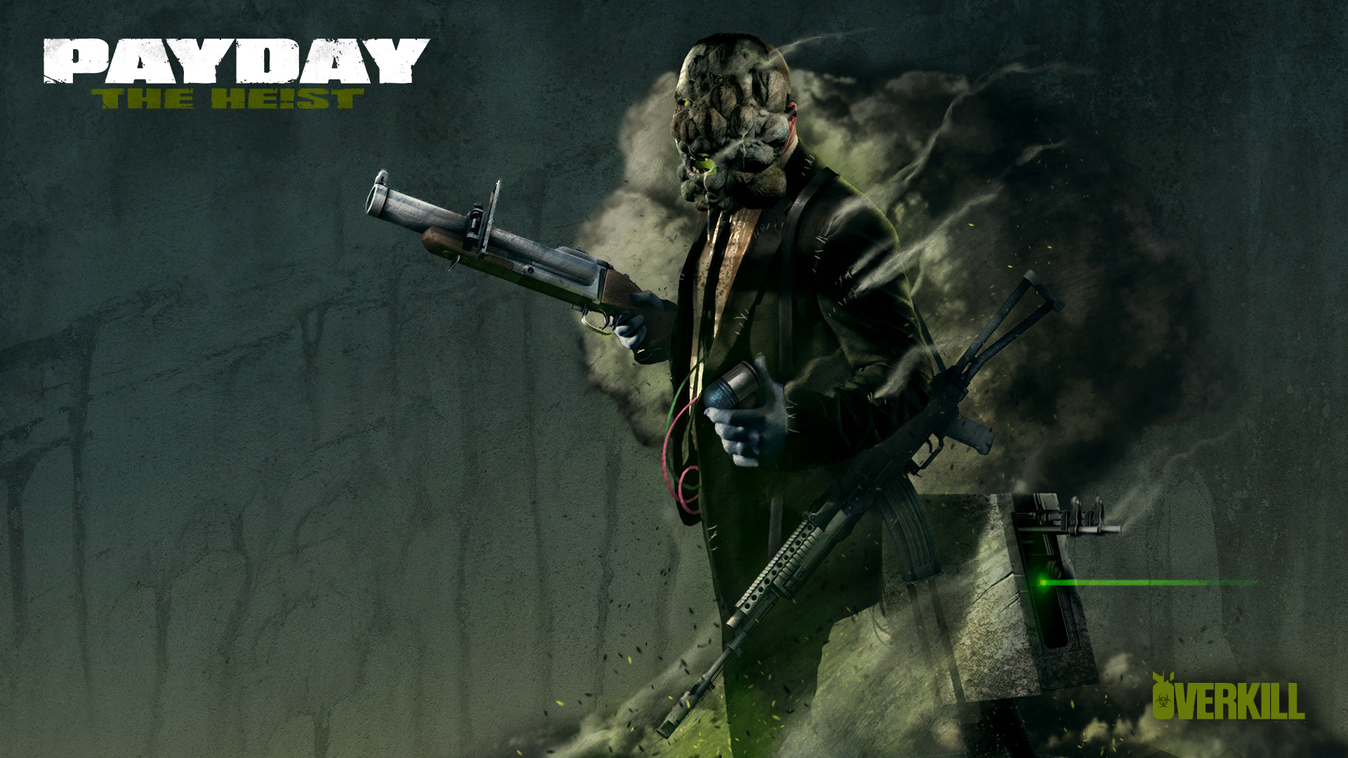 PAYDAY  The Heist ZOMBIE WP   Technician Wolf by  Meloniii on HD Wallpaper