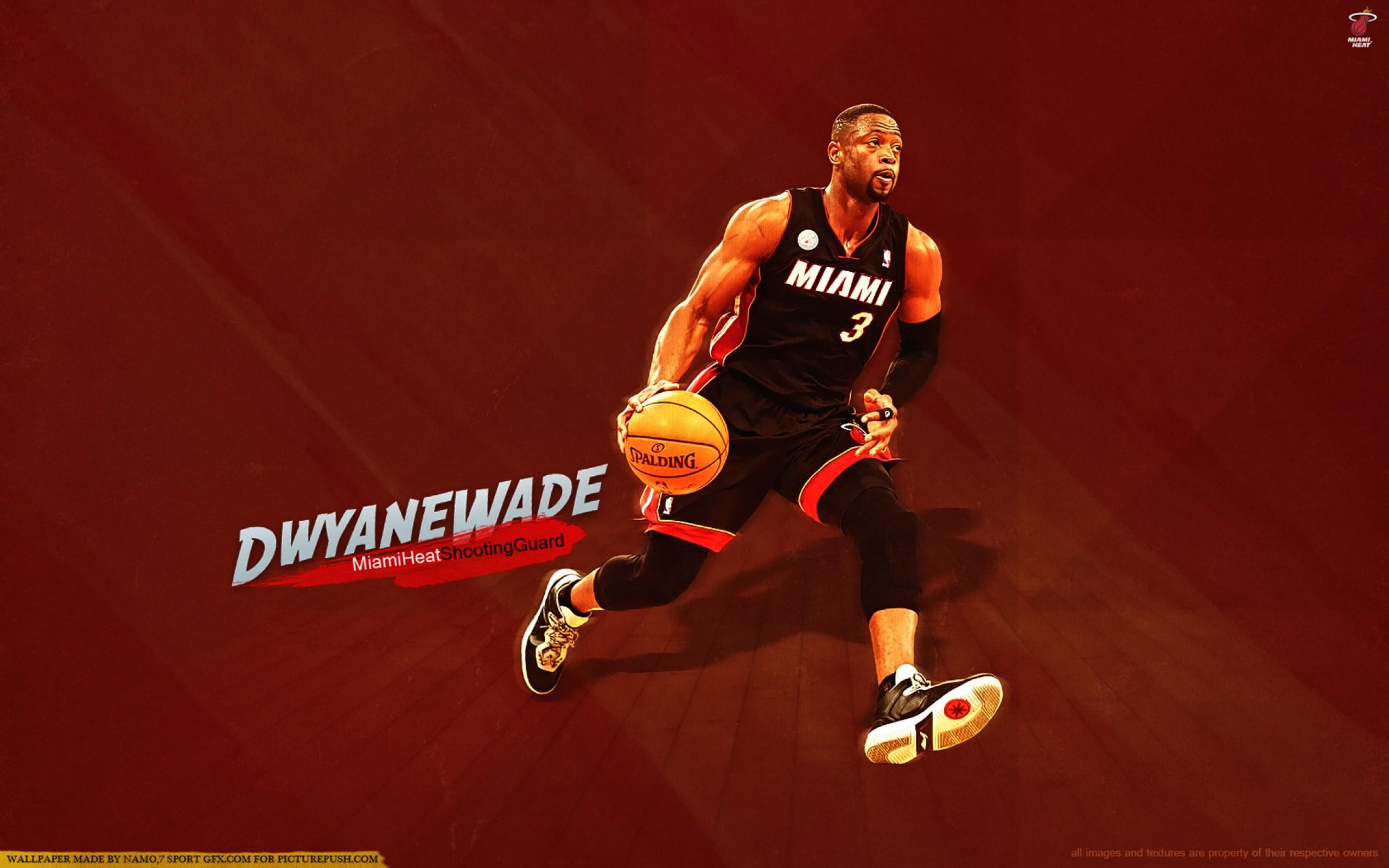 Dwyane Wade Miami Heat 2013    Go HD Wallpaper