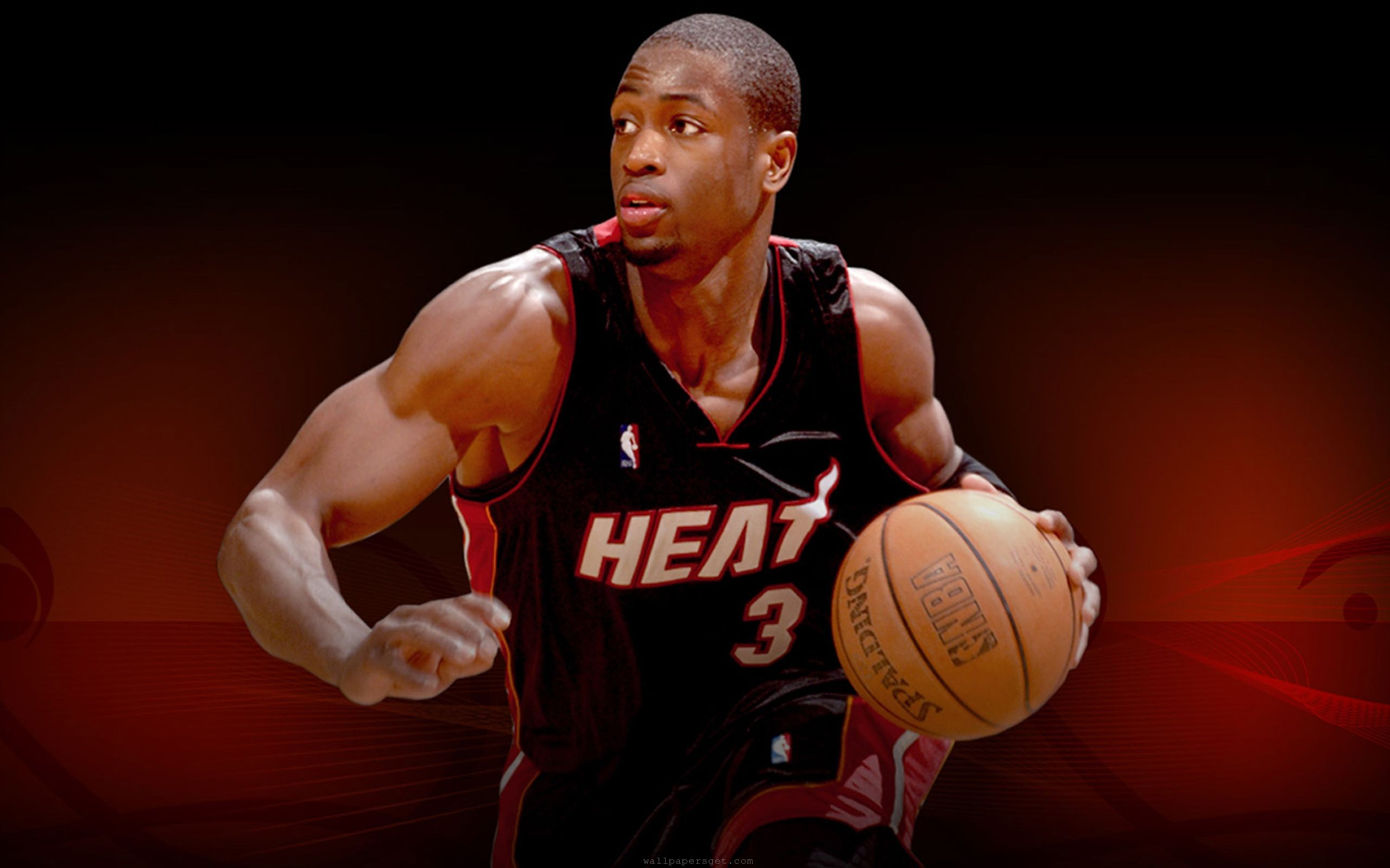 Miami Heat  NBA  american  basketball  shooting guard  dwyane wade HD Wallpaper