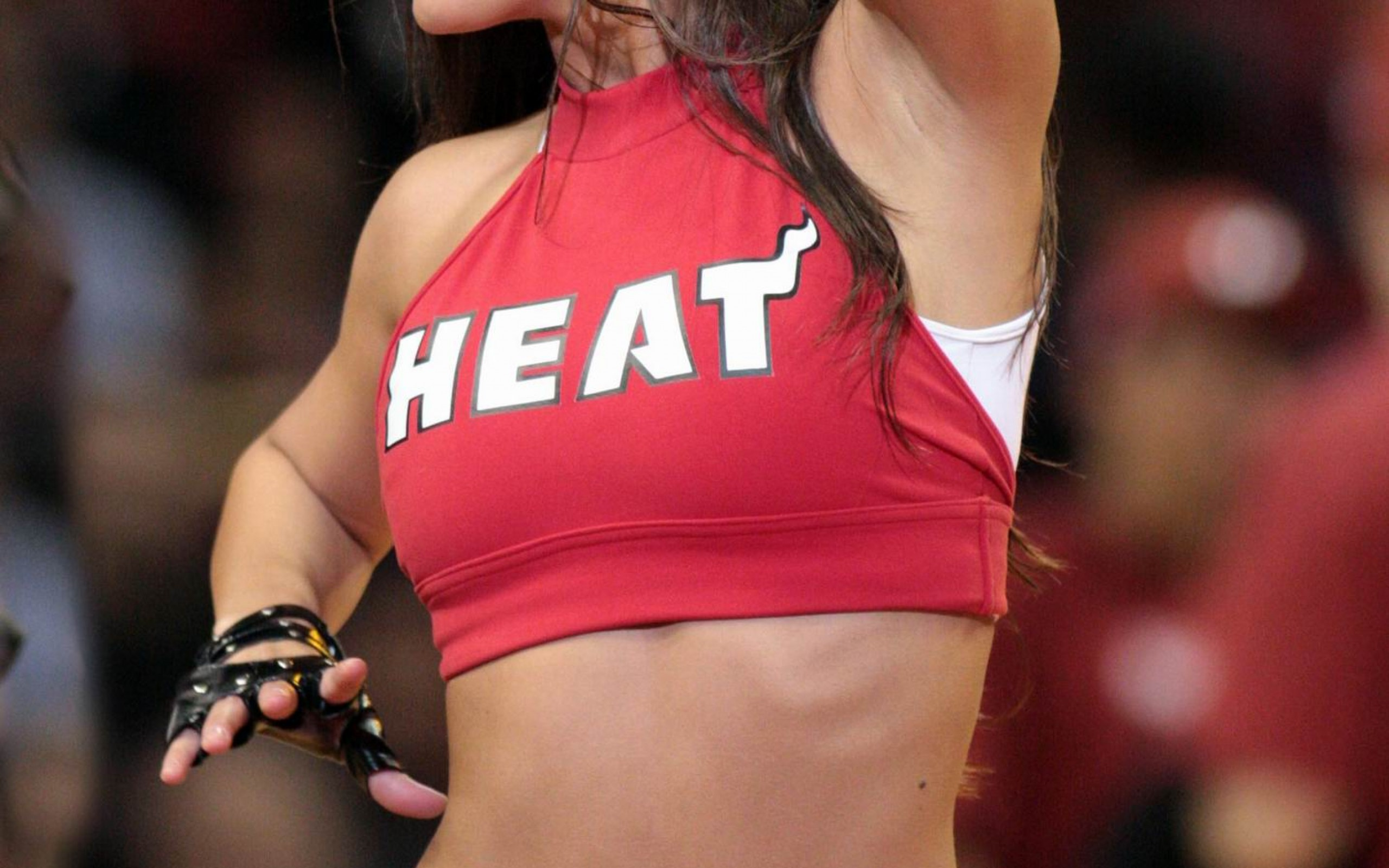 miami heat dancers   heat girls  NBA girls  NBA dancers   HD HD Wallpaper