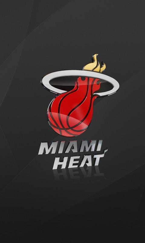 Miami heat  basketball  miami  gray  background  logo    HD Wallpaper
