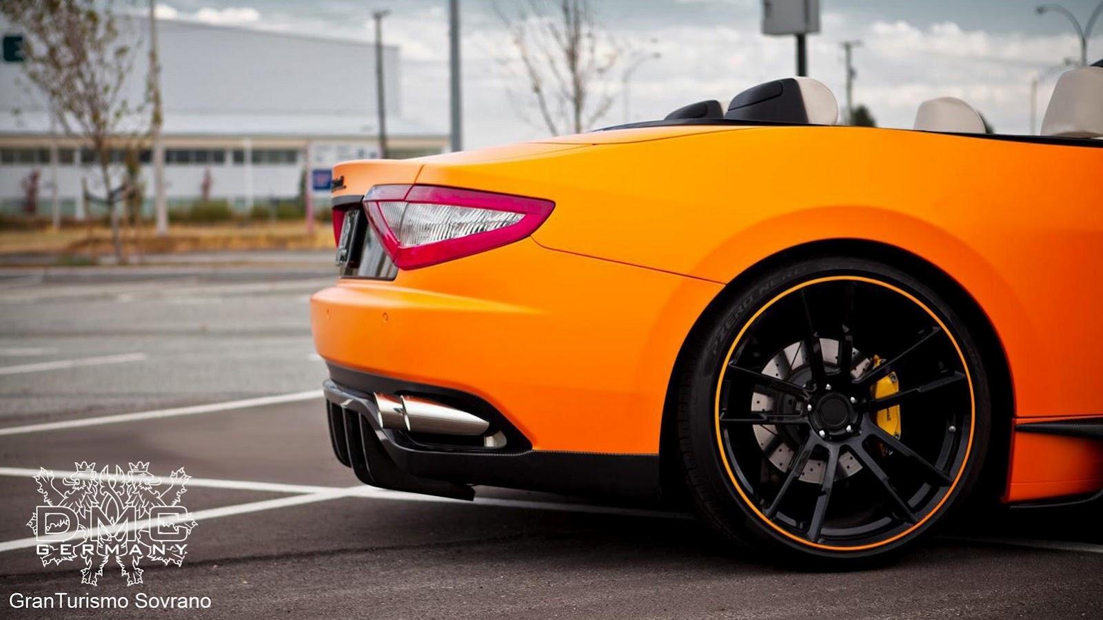 DMC Maserati GranCabrio Supercharger Tuning 6   Car Tuning HD Wallpaper
