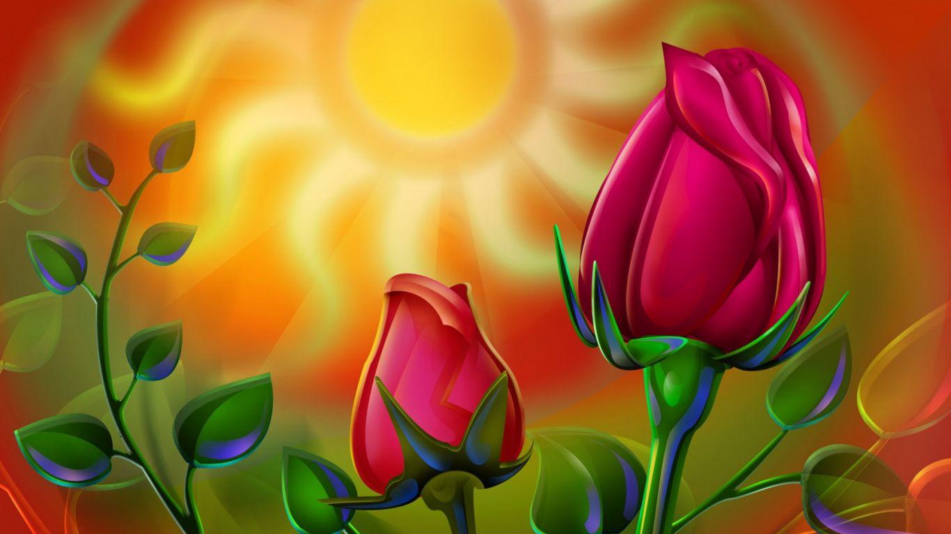 Sun Free A Setting Sun Download 3d A Setting Sun A Setting Sun Hd HD Wallpaper