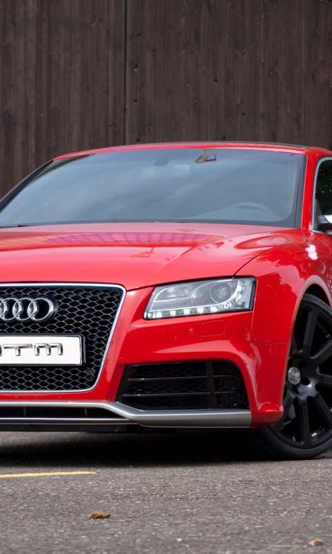 Audi Rs5  Tuning  Red      yoyowall  HD Wallpaper