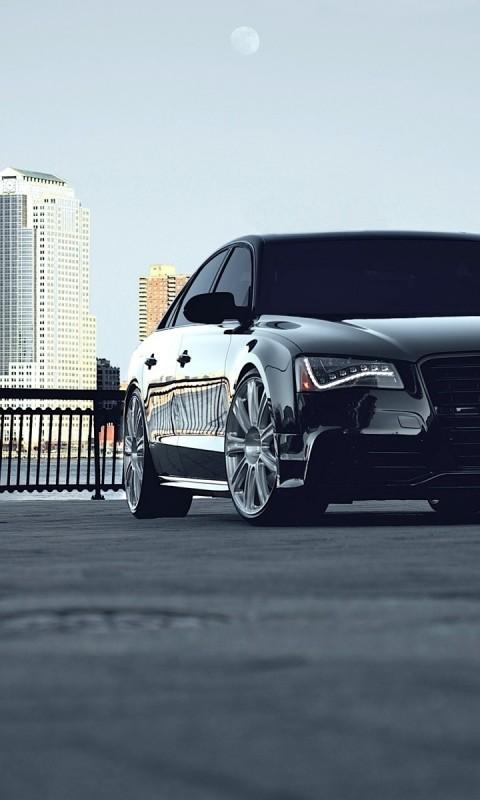 Audi  A8  Tuning  Black    Feed HD Wallpaper
