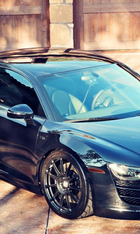 Audi  R8  Tuning  Bright  Black    Feed HD Wallpaper