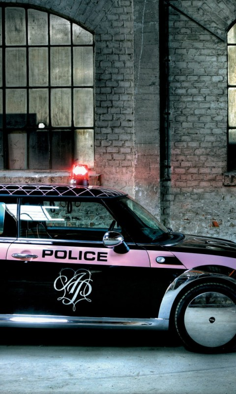 mini cooper  police  tuning    on line HD Wallpaper
