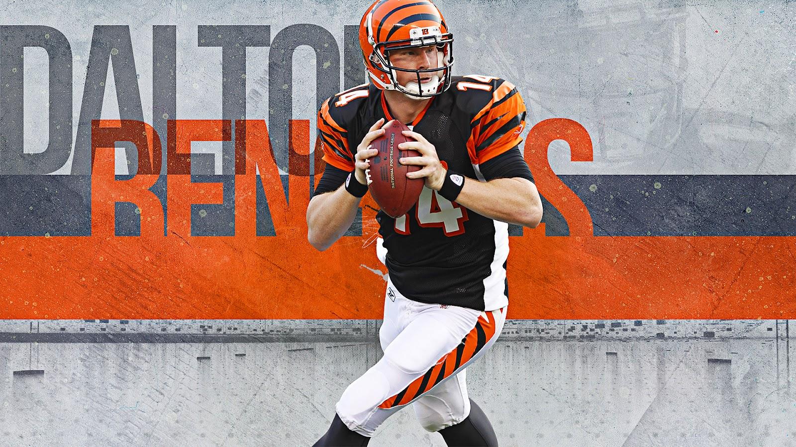 Dalton Andy Cincinnati Bengals 1600x900 HD Wallpaper