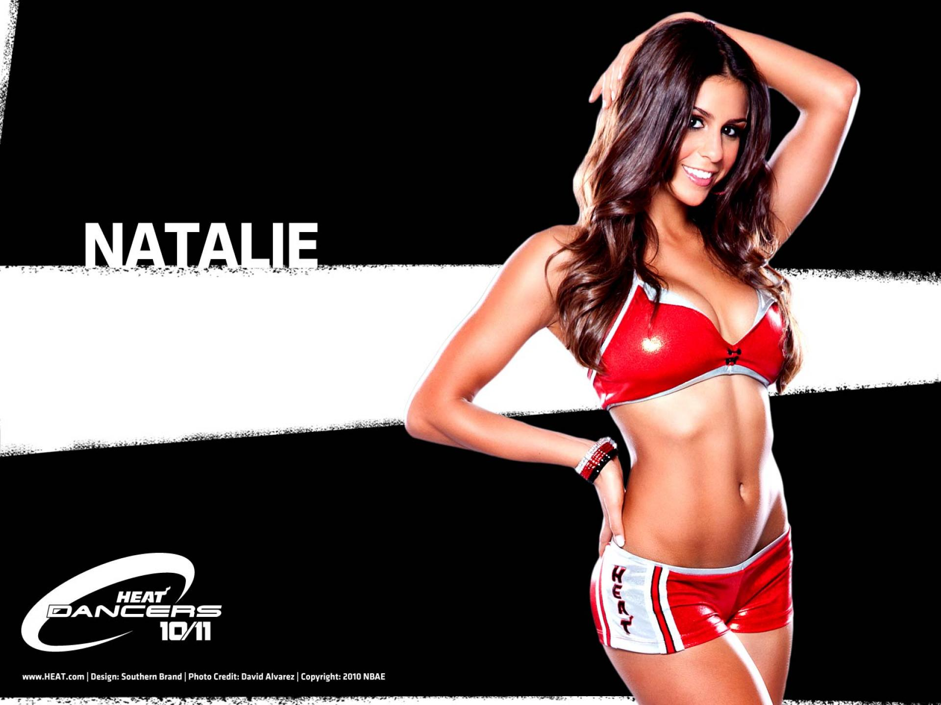 NBA Dancers   Miami Heat   natalie   United States  USA Pictures HD Wallpaper