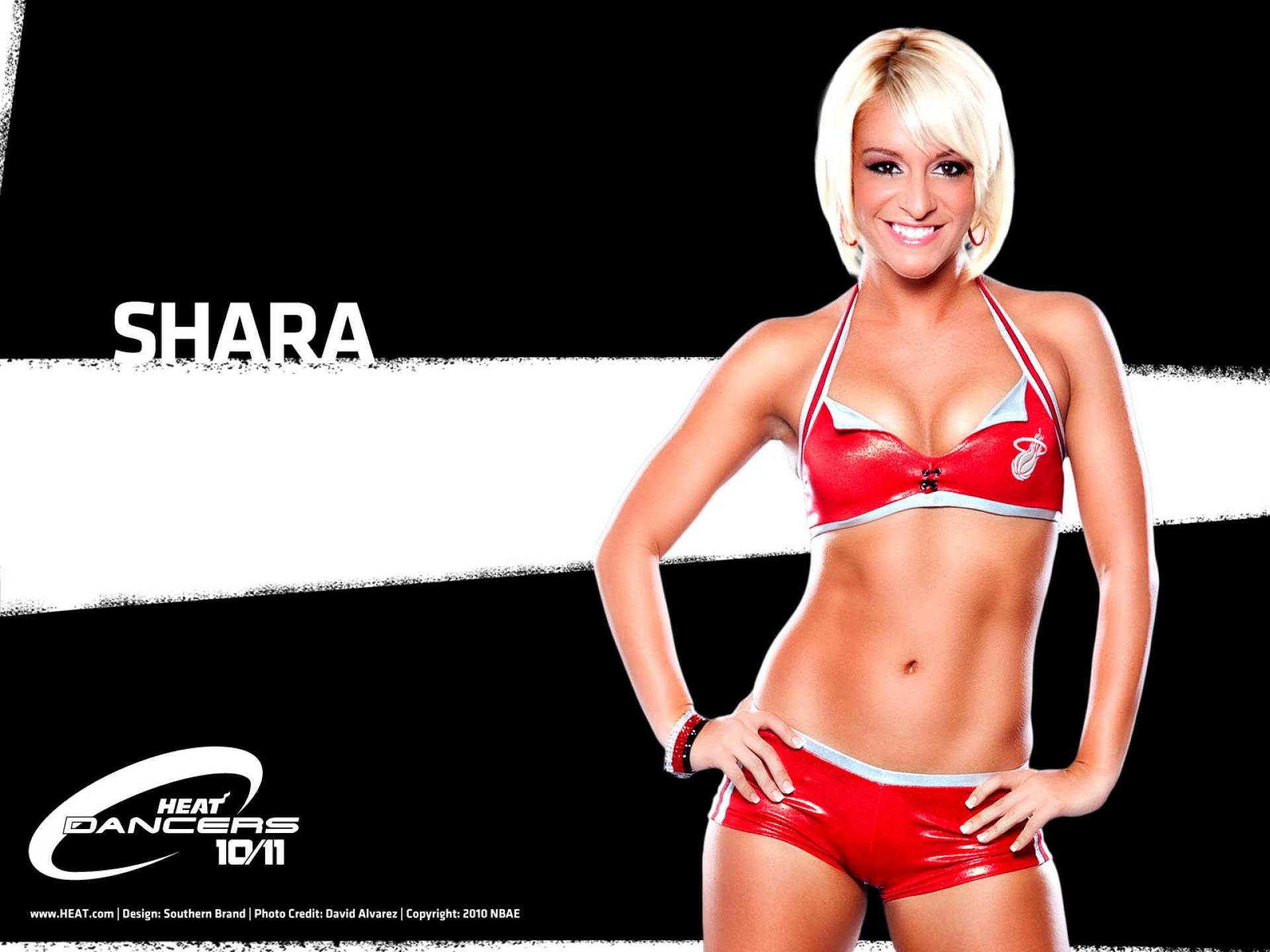 NBA Dancers   Miami Heat   shara   United States  USA Pictures HD Wallpaper