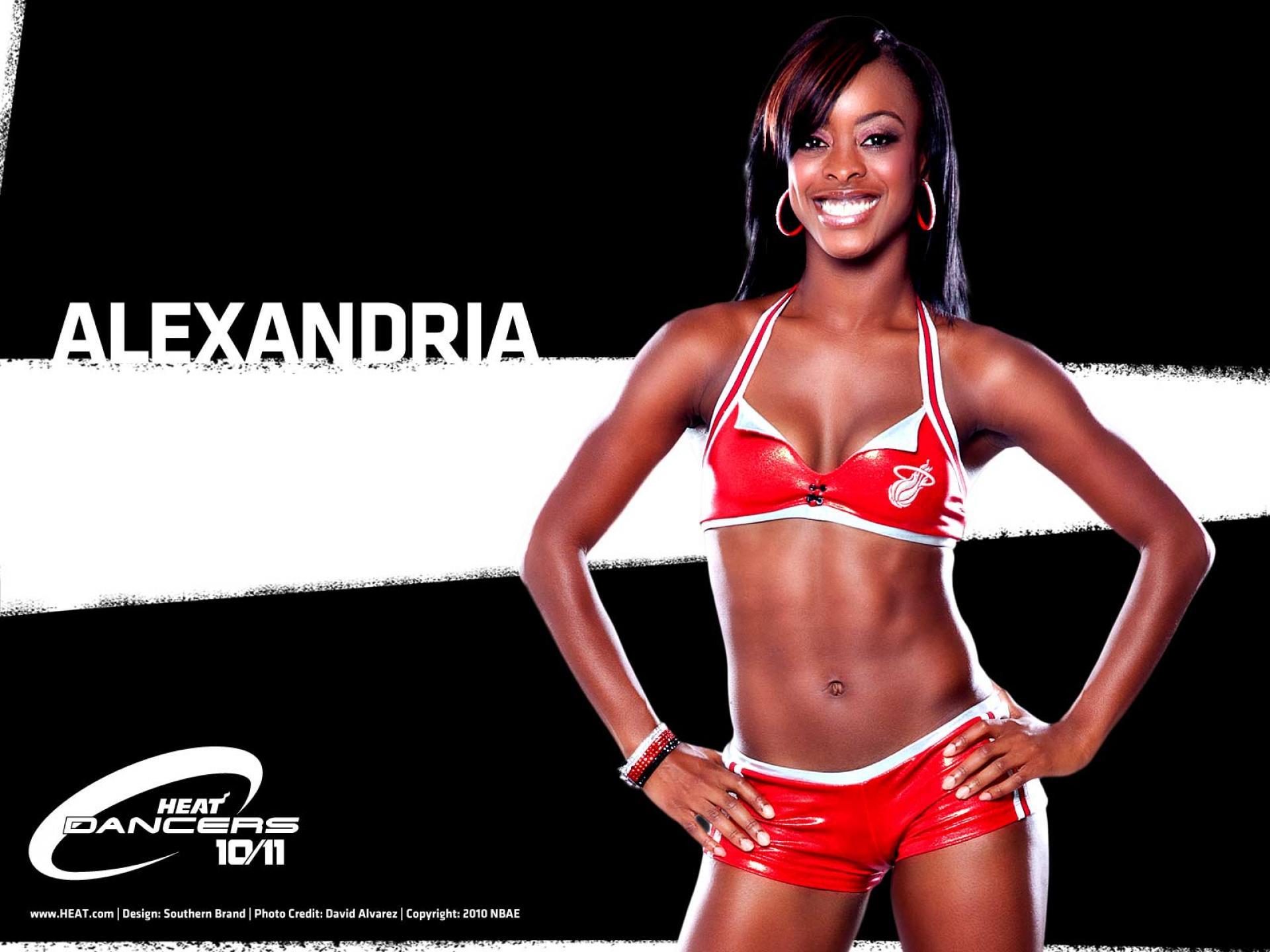 NBA Dancers   Miami Heat girls   alex   United States  USA Pictures HD Wallpaper