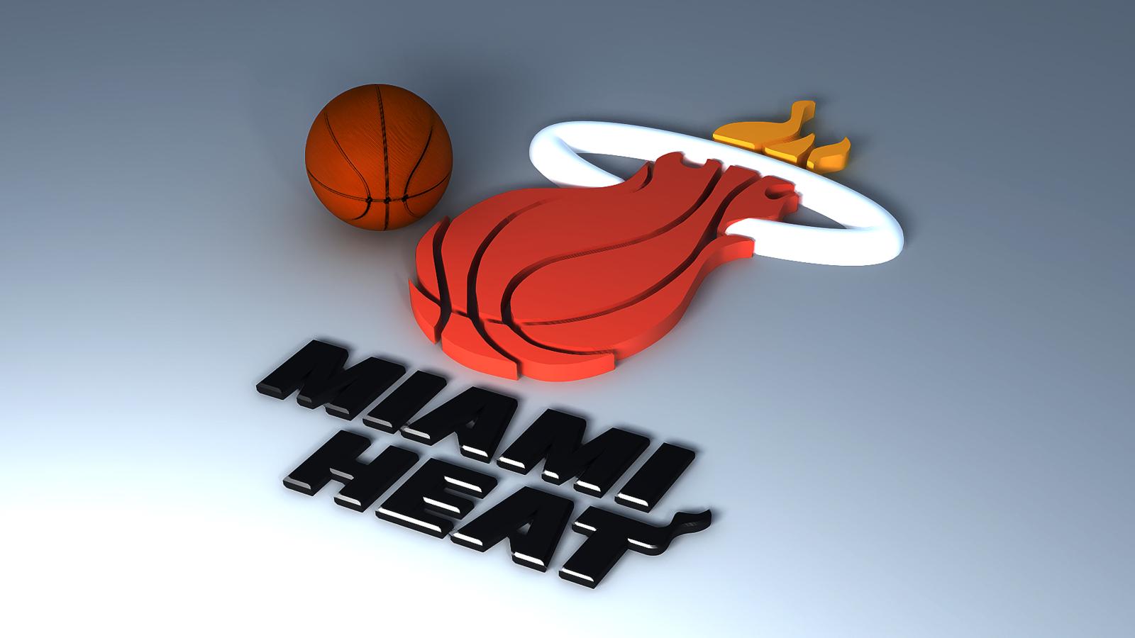 1600x1200 px  HD    Miami Heat 3d Logo  Hd HD Wallpaper