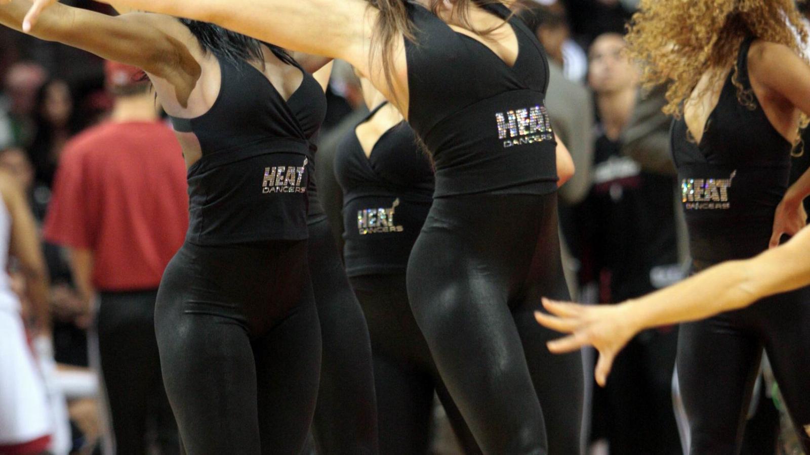 Miami Heat Dancers NBA cheerleaders   United States  USA Pictures HD Wallpaper