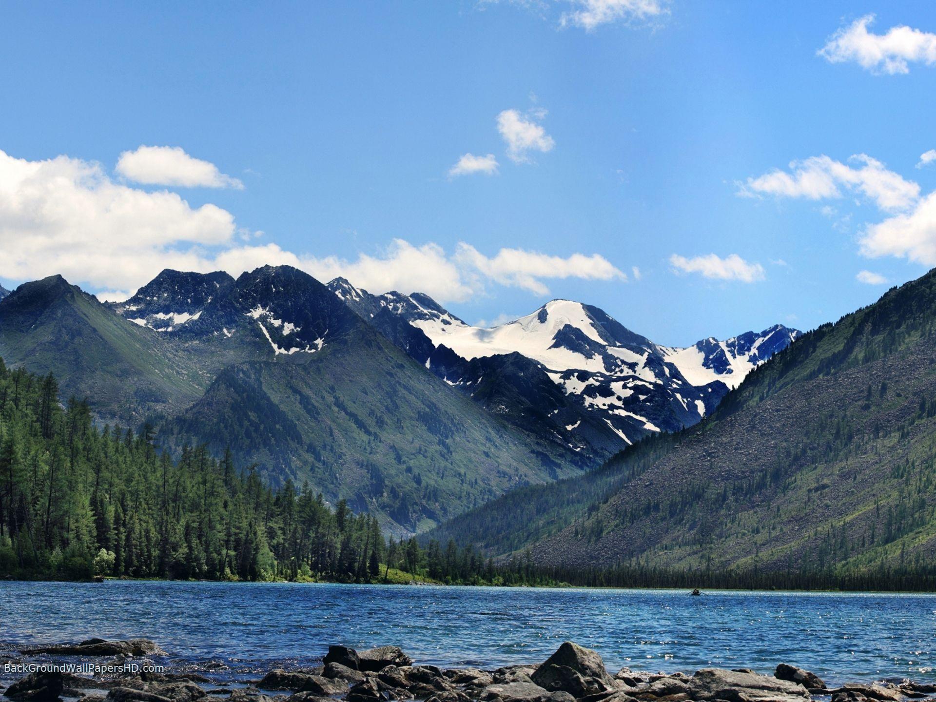 Rocky Mountains North America HD Wallpaper