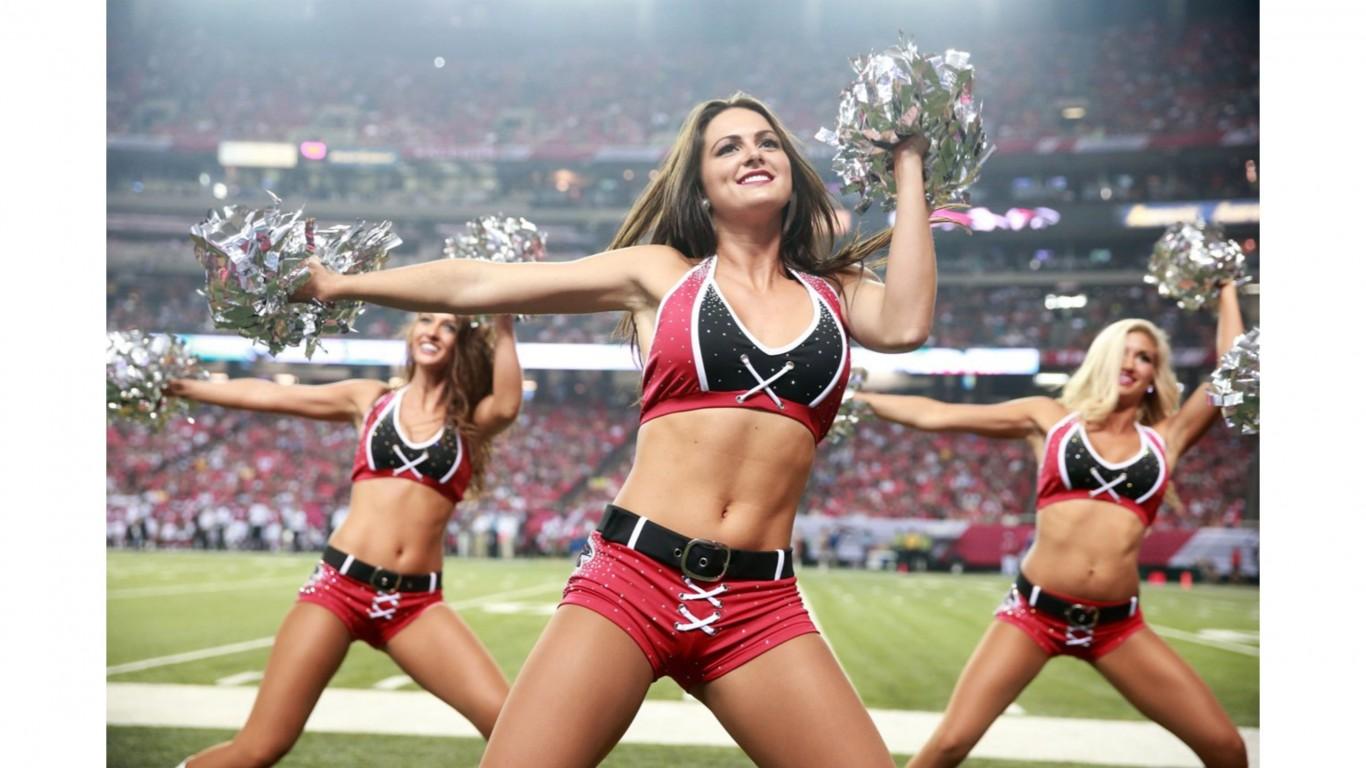 Atlanta Falcons Cheerleaders   HD Wallpaper