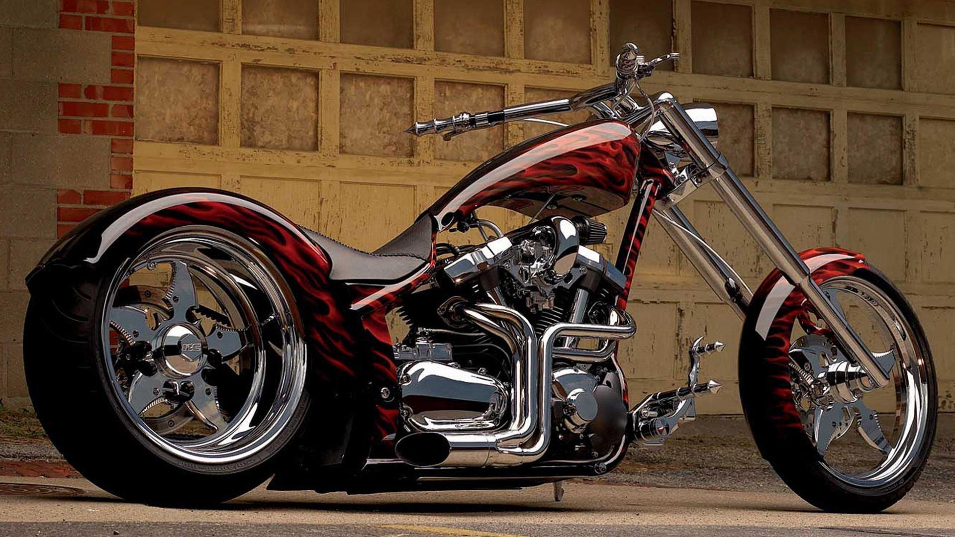 Motorcycles Yamaha Chopper HD Wallpaper